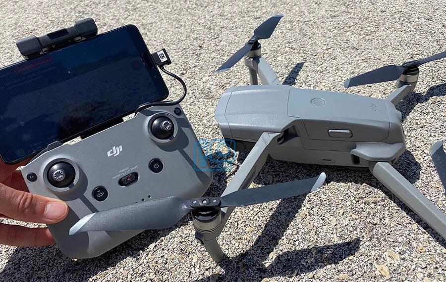 dron y control remoto mavic air 2