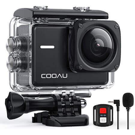 accesorios incluidos con camara cooau spc02 4k 20mp