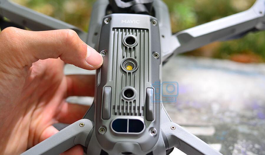sensores inferiores dron mavic air 2
