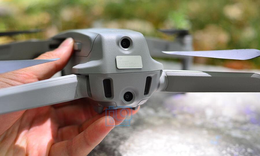 sensores traseros dron mavic air 2