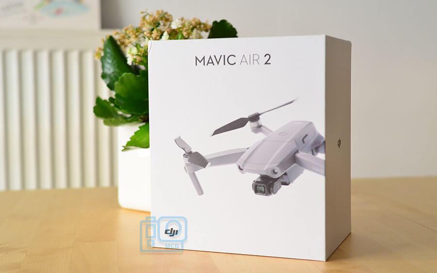 unboxing en español dron dji mavic air 2
