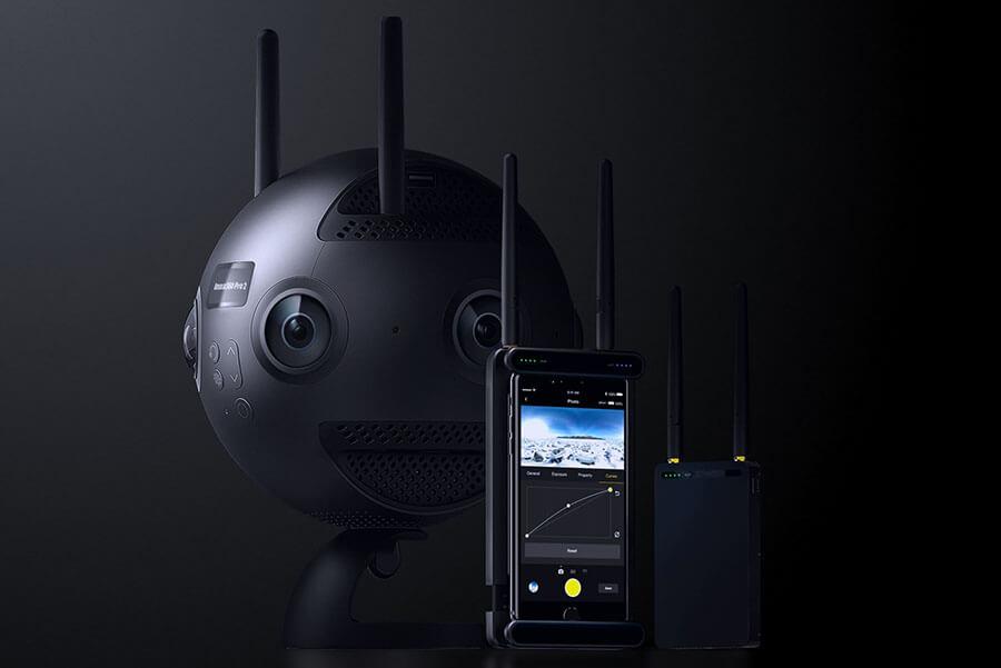 cámaras 360 profesionales insta360 pro 2