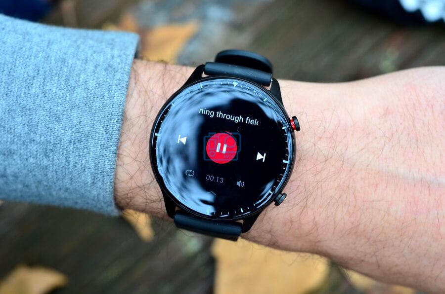 altavoz propio para musica smartwatch gtr 2