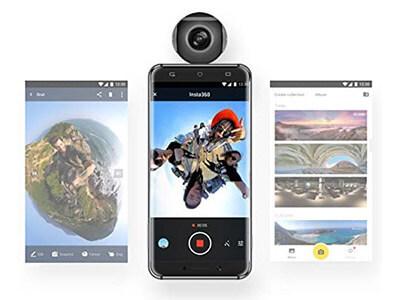 mejor camara 360º android insta360 air