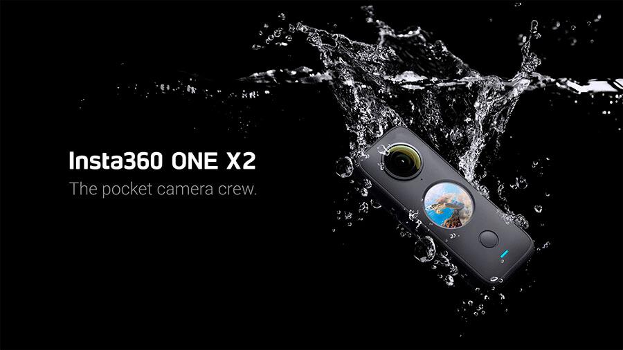 es waterproof resistente al agua insta360 one x2