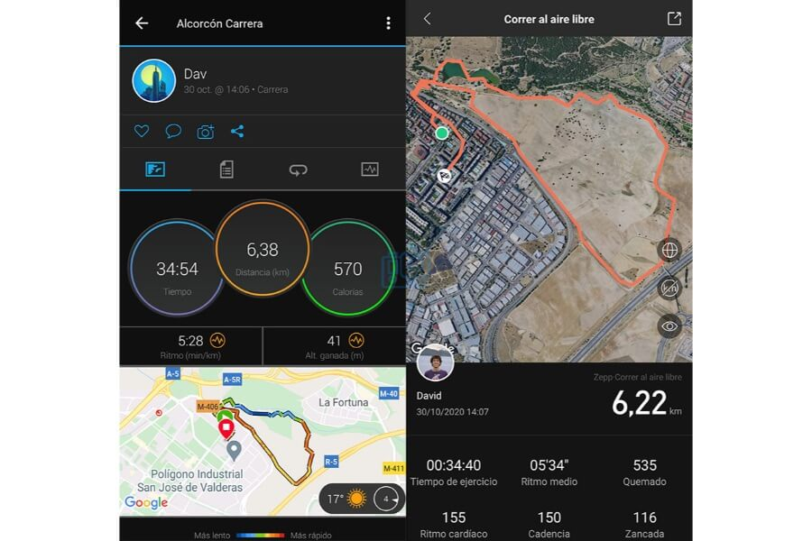 Garmin Venu SQ vs Amazfit Stratos 2