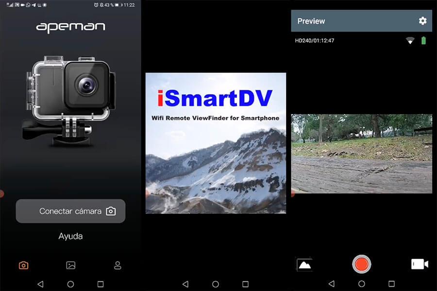 app apeman a87 android ios
