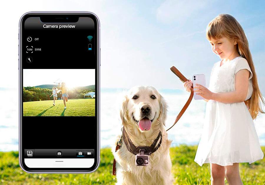 cual es la app para android iOS de Victure AC 920