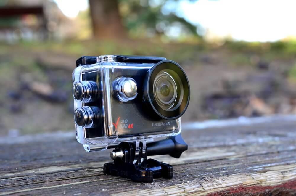 campark v30 native 4k action camera analisis