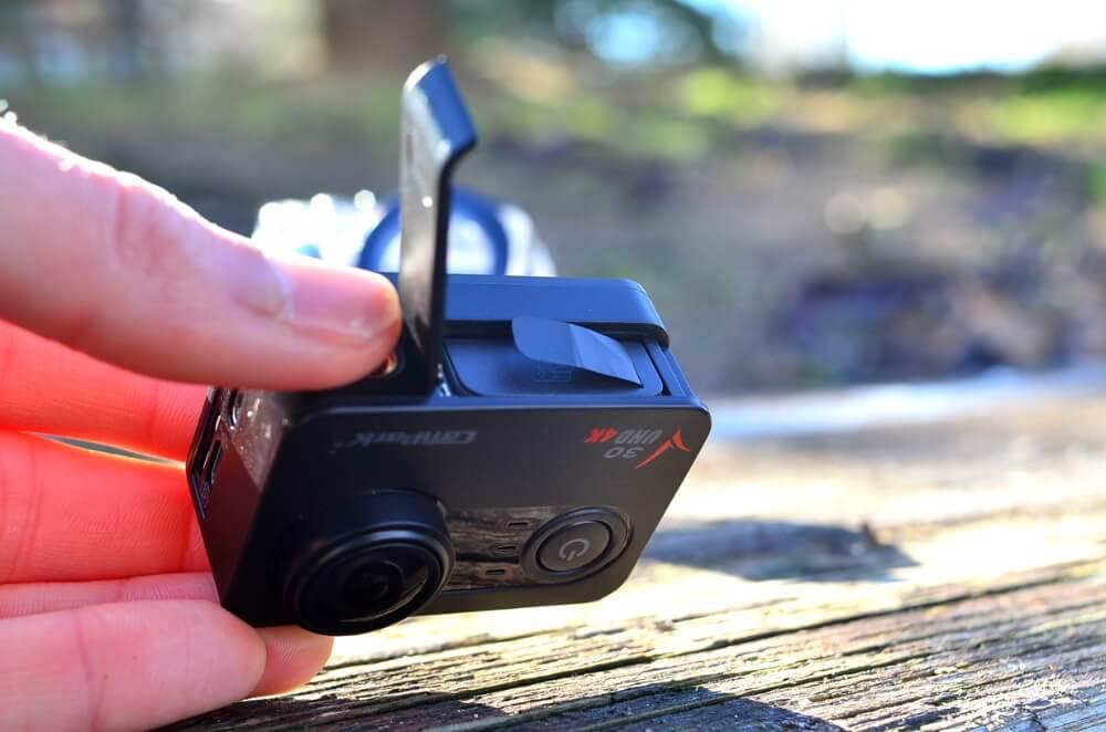 baterias 1250mah Campark v30
