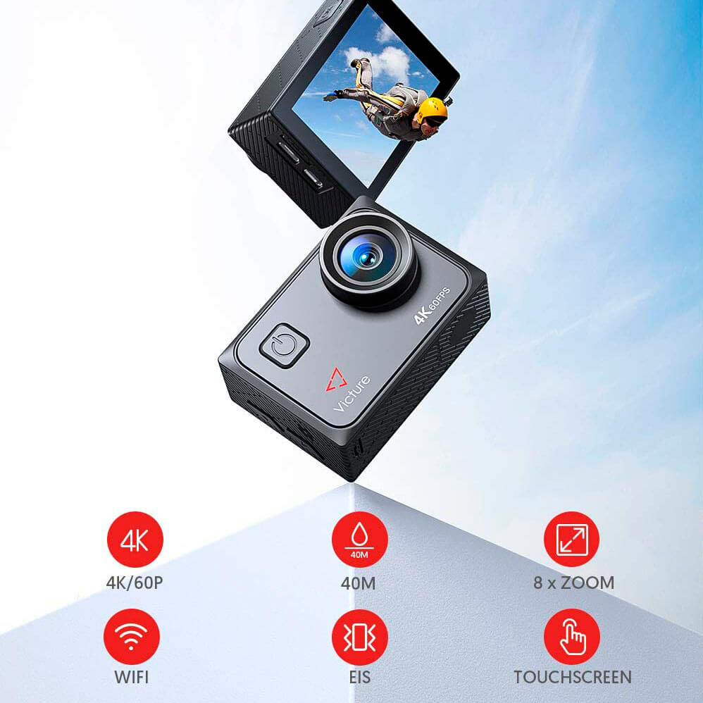 specs Victure AC 920 4k action camera