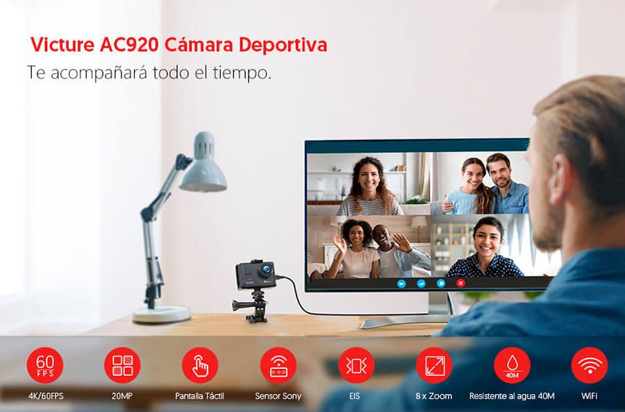 review Victure AC 920 en español