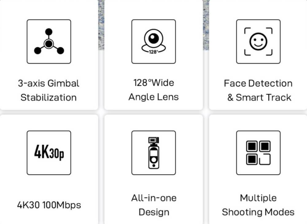 especificaciones Fimi Palm 2