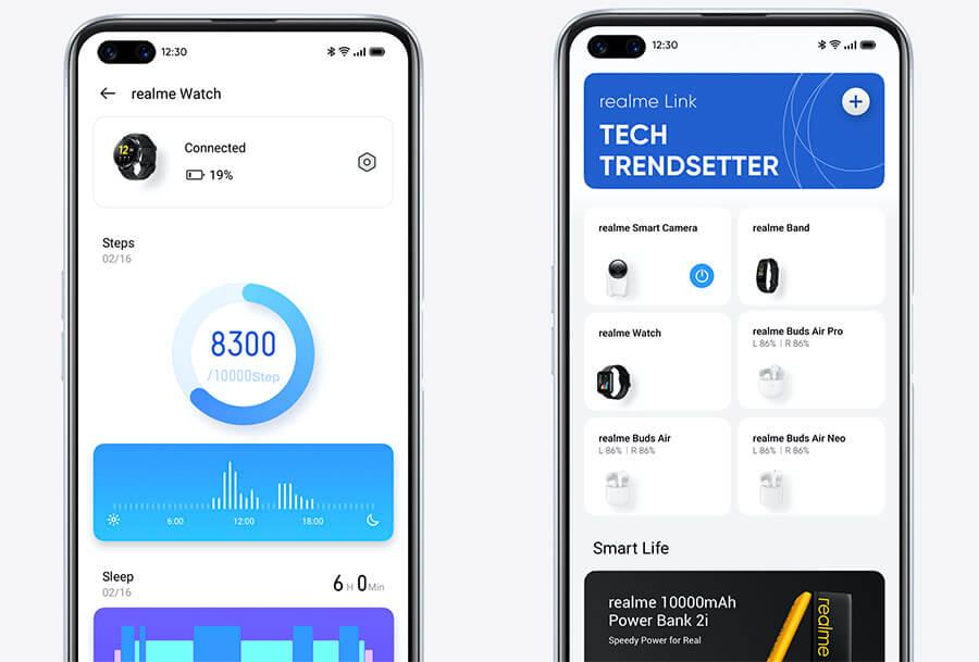 app Realme link para watch s pro