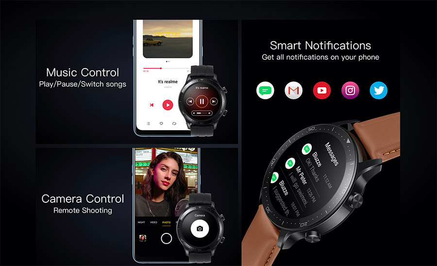 notificaciones llamadas en reloj watch s pro de Realme