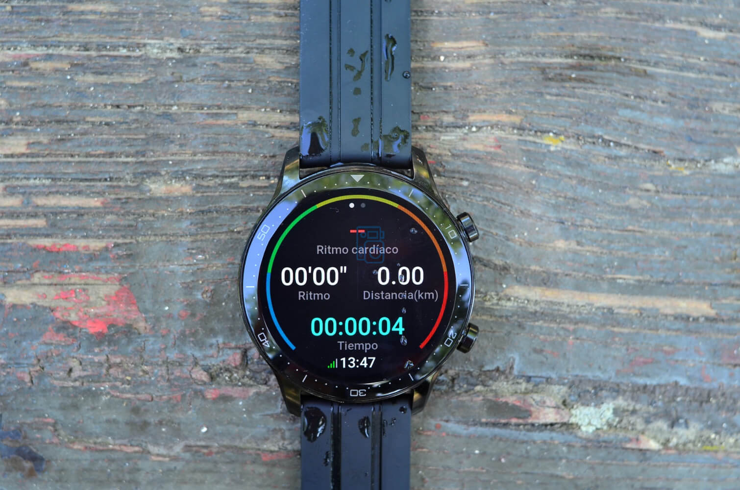 como exportar track gps realme watch s pro