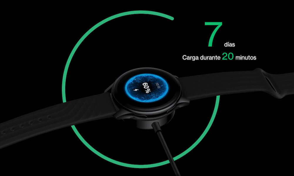 cuanto dura la bateria de Oneplus watch