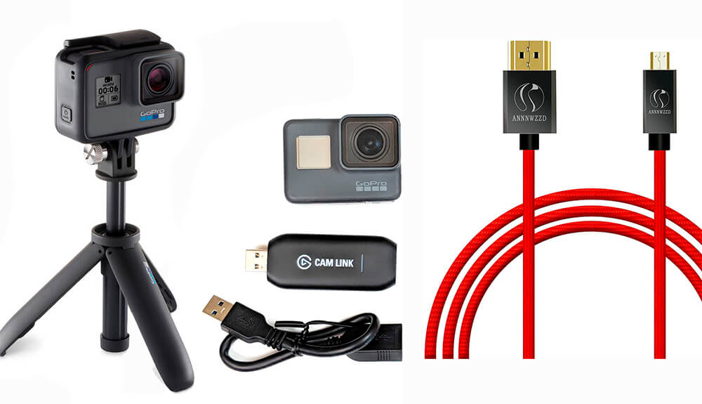 accesorios necesarios para conectar gopro como webcam