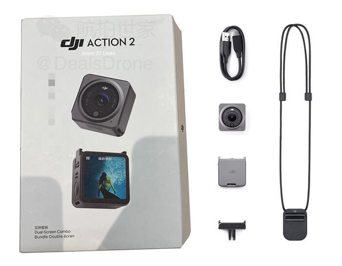 unboxing DJI Osmo Action 2