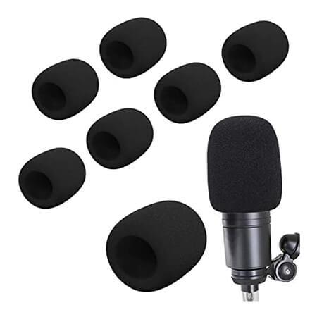 espuma para microfono de casco de moto