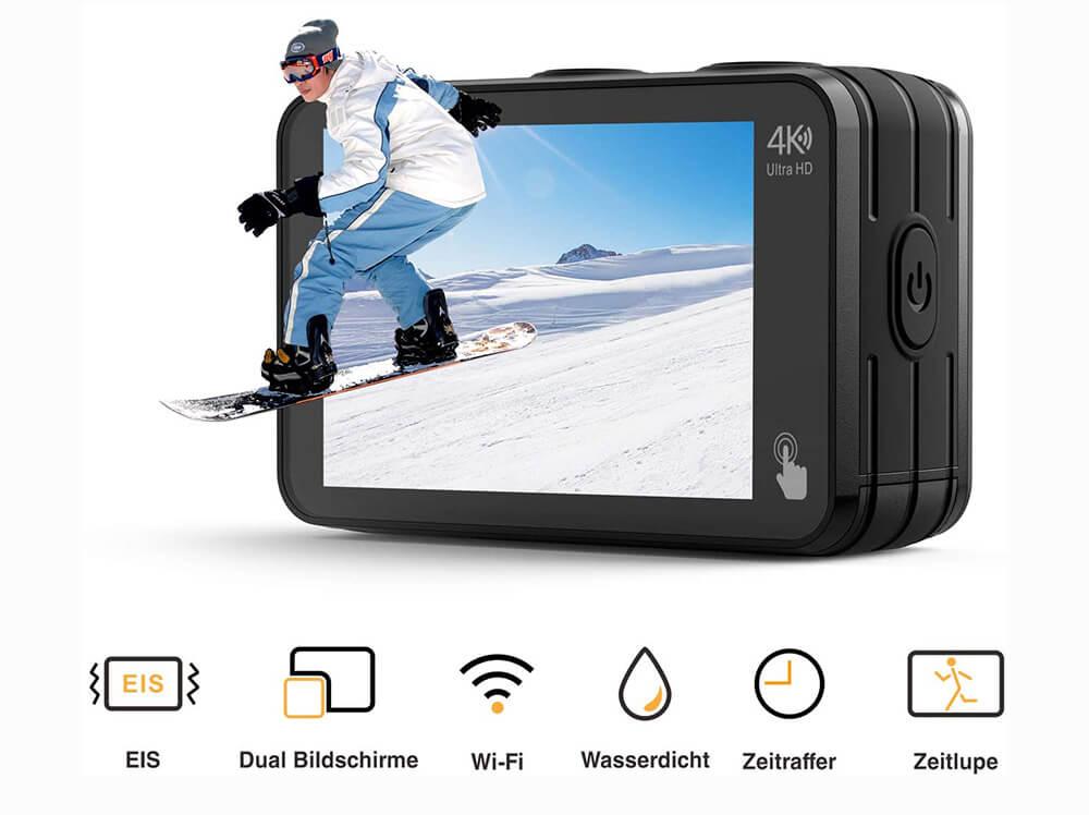 caracteristicas campark v40 4k action camera
