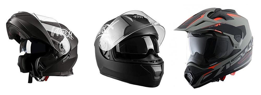 tipos de casco para montar camaras deportivas y microfonos