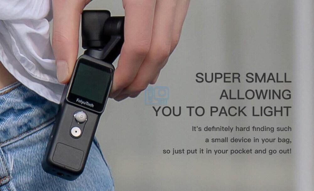 mejoras Feiyu Pocket 2 4K