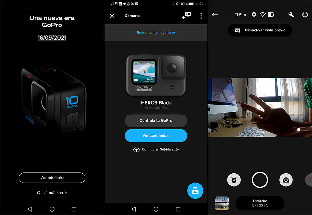 GoPro Hero 10 app quik